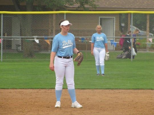 Zoe Mortrude plays defense against Madison.