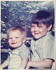 Jason Smith and Shawn Goodspeed, Cynthia A. Smith's sons, are shown as young children. Shortly after their mother died in 1988, Goodspeed moved to California with his father, while Smith was raised by his grandparents in Missouri.