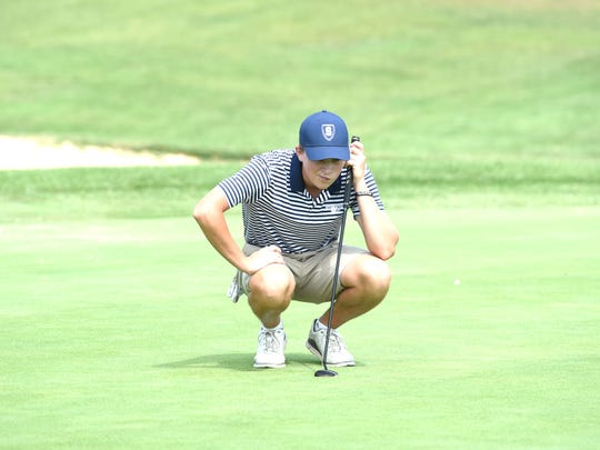 Staunton's Mason Wyatt was the low medalist at Tuesday's Region 2B golf tournament.