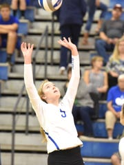 Fort Defiance senior Maddie Painter is in her fourth year setting for the Indians.