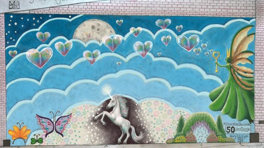 Mural submission by Mary E. D. Ryan.