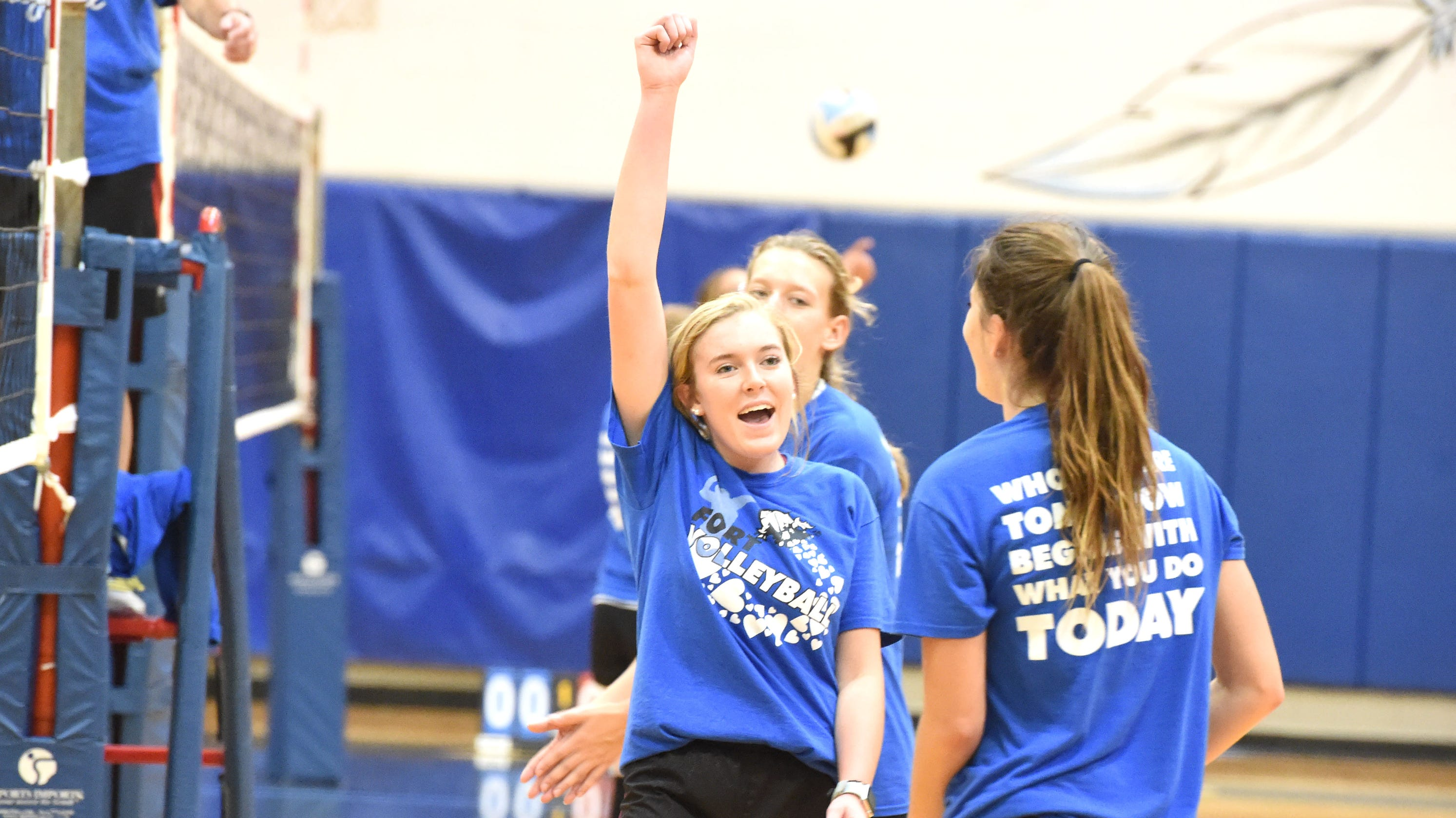 Maddie Painter is heart and soul of Fort Defiance volleyball