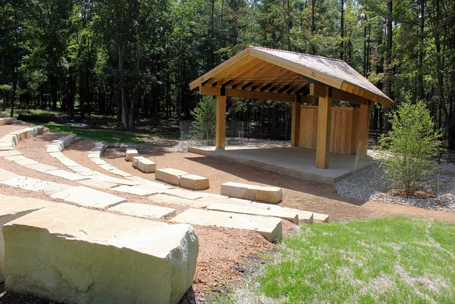 Pankowski Friends Amphitheater at University of Wisconsin-Stevens Point's Schmeeckle Reserve