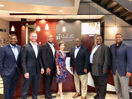 Members of the Big Bend Minority Chamber of Commerce visited Nashville, Tennessee, for a delegation trip.