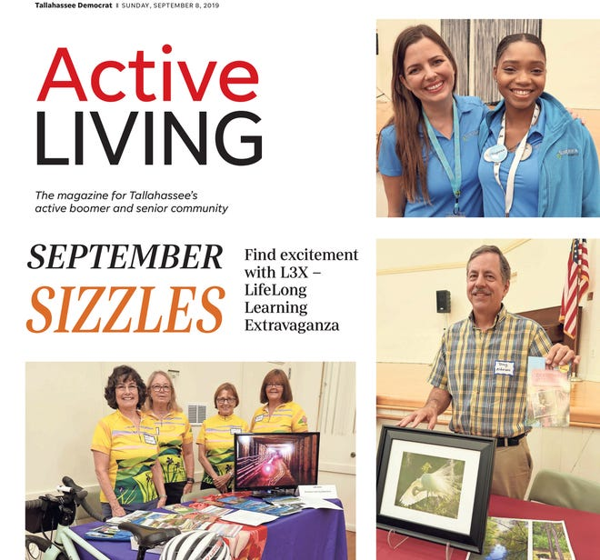 The September 2019 issue of Active Living.