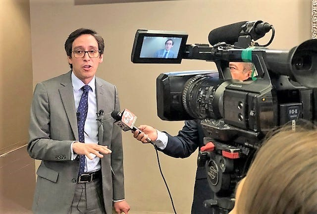 County Commissioner Vince Perez said more cuts were needed in the new county budget, which he voted against. He also voted against a property tax increase.