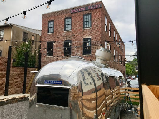 Makers Alley, a Buccini/Pollin Group-run beer garden on Orange Street in downtown Wilmington, opens Monday.