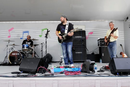 "Texoma's Best ""Live Music"" award winning group Deep In It will perform at 10:10 p.m. Friday October 4 at Stick's Place Bar as part the 2019 Larsonfest event."