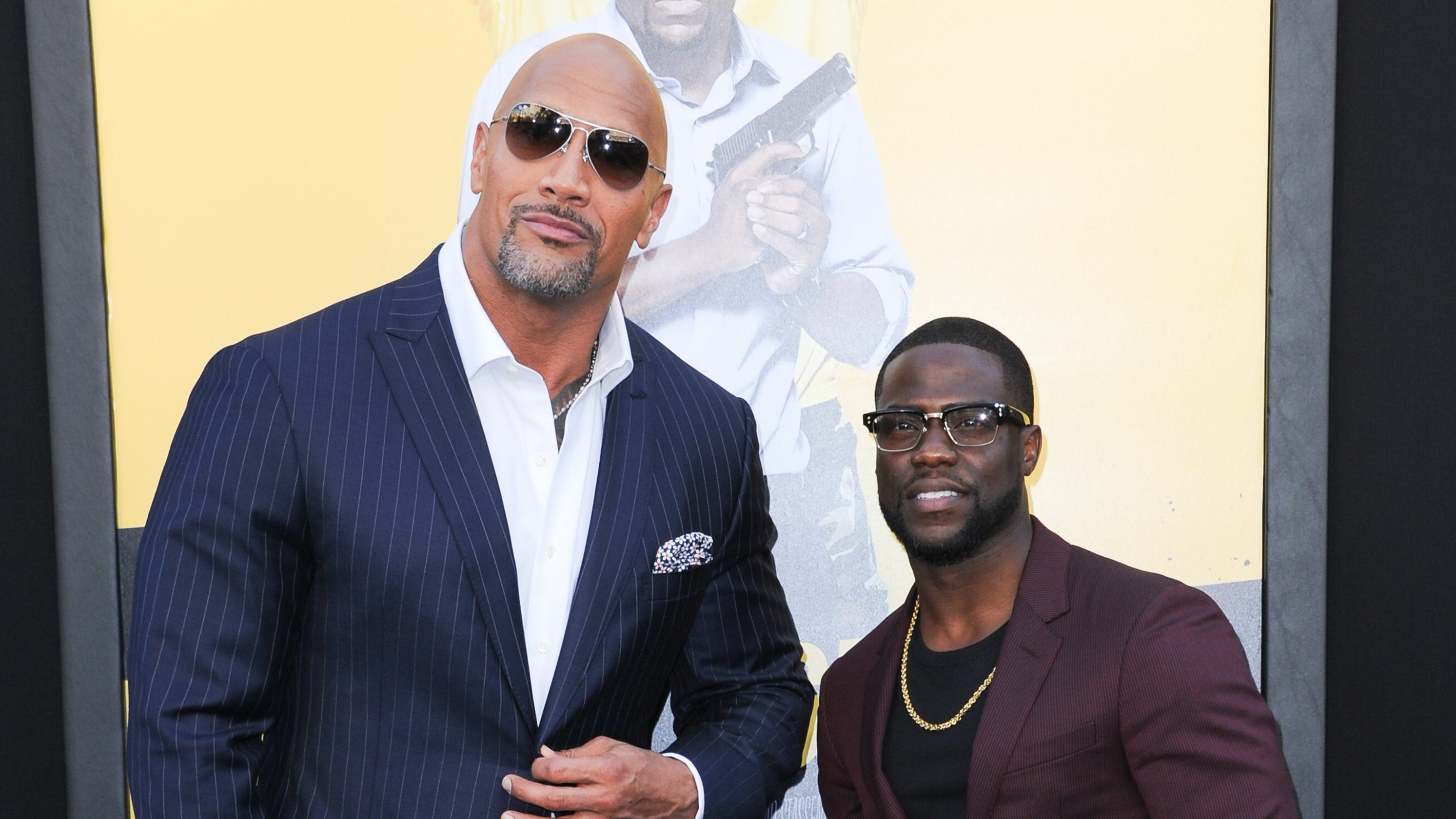 'He's a lucky man': Dwayne 'The Rock' Johnson says Kevin Hart is 'doing very well'