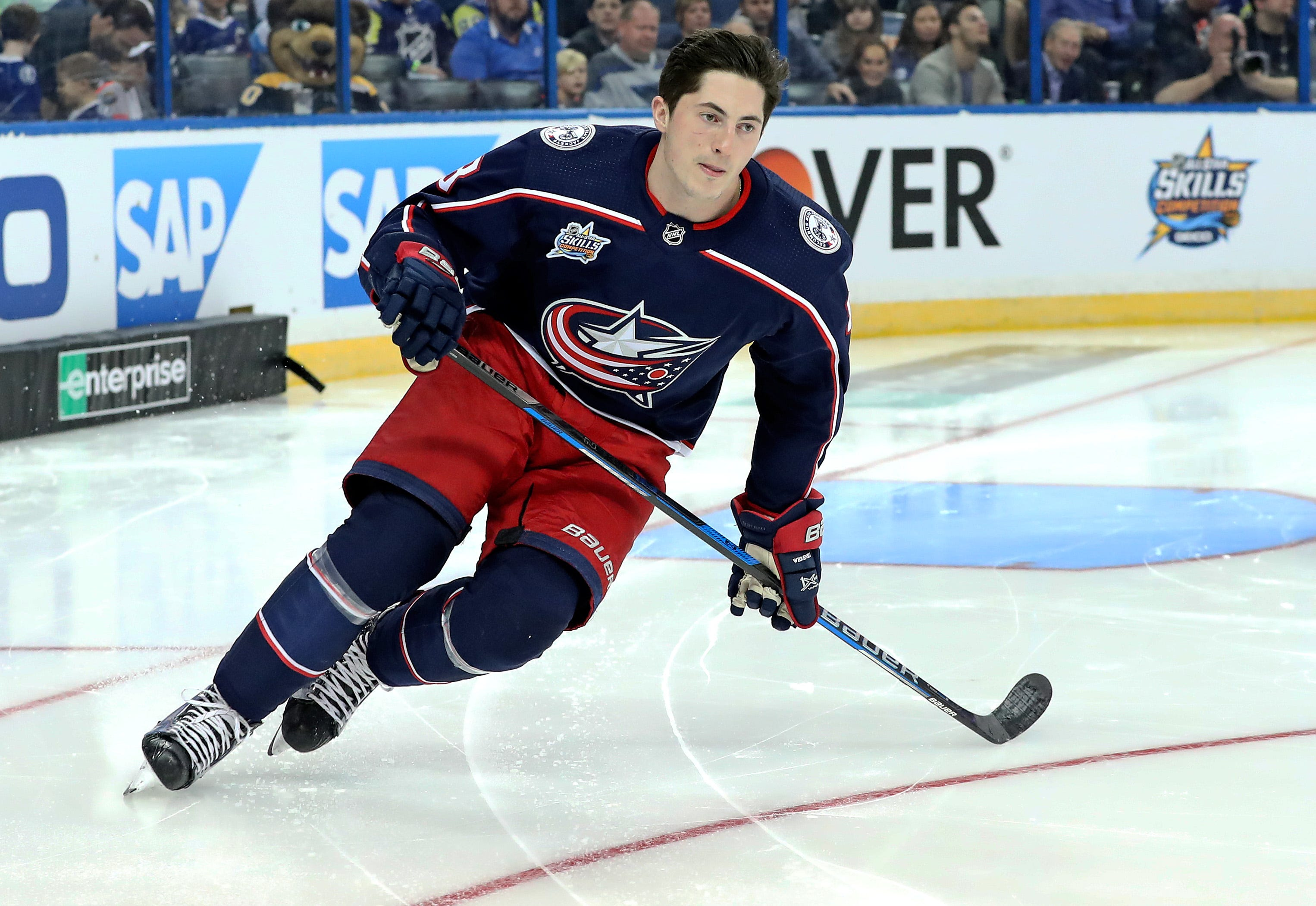 Blue Jackets sign Zach Werenski to three-year extension
