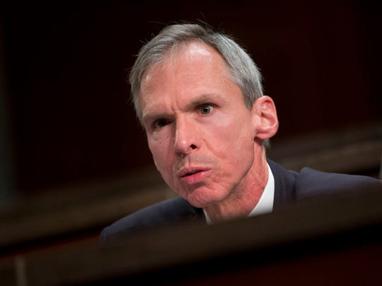 In this April 14, 2016 file photo Rep. Dan Lipinski, D-Ill. speaks on Capitol Hill in Washington.