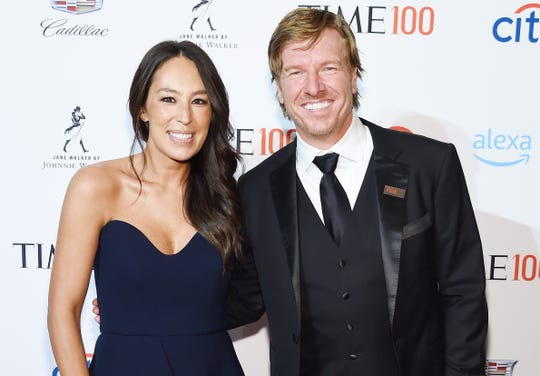 Joanna and Chip Gaines at the TIME 100 Gala on April 23, 2019 in New York City.