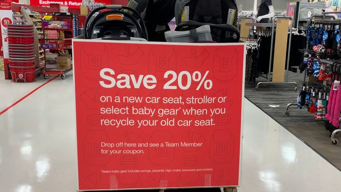 Target car seat trade-in event returns Monday: Here's how to get a 20%... image