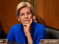 Jan 18, 2017; Washington, DC, USA;   Sen Elizabeth Warren during hearings for Rep. Tom Price,  nominated for Secretary of Health and Human Services.  Robert Deutsch-USA TODAY NETWORK
