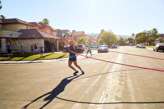 Getti Kehayova, Guinness World Record holder for largest hoop spun, hula hooping.