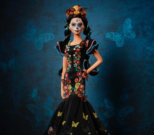 Mattel is releasing the Barbie Día De Los Muertos doll.