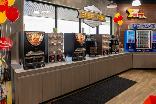 Y-Not Stop offers a variety of packaged, fresh and cooked foods, as well as food and convenience store items.