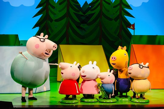 """Peppa Pig's Adventure"" is visiting more than 50 cities this fall."