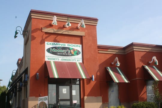 Mooney's Sports Bar & Grill will be located at the former Ground Round in Johnson City.