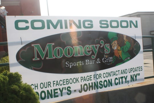 Mooney's Sports Bar & Grill, located at 214 Reynolds Rd. in Johnson City, will open a new location inside the former Ground Round.