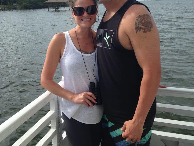 Chris Streiff with his wife Wyndy Streiff