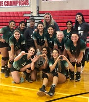 Taft defeated West Oso in three straight games to help coach Tasha Wilson earn her 600th career win.