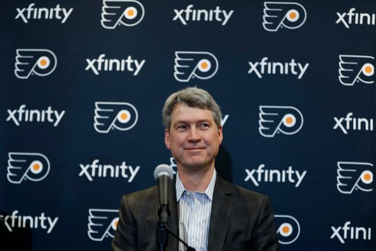 Chuck Fletcher has hired a new coaching staff, bolstered the defense, traded for and signed a center and solidified the Flyers' analytics staff since taking over as general manager last December.