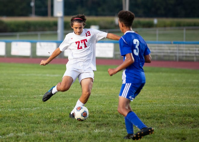 Zane Trace High School boys soccer defeated Westfall 11-0 on Monday September 16, 2019.