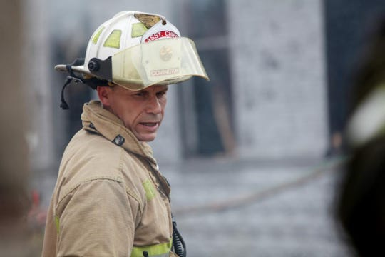 Assistant Fire Chief Chip Terry