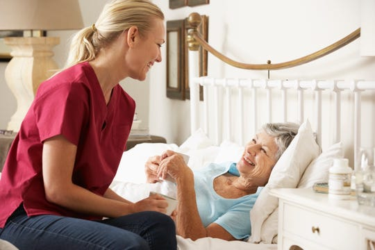 When selecting a hospice provider, don't be afraid to ask questions and interview the staff to make sure it's the right fit.