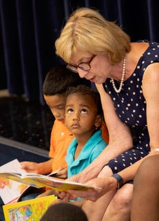 Dolly Parton's Imagination Library hopes to bring books to every child in Ohio.