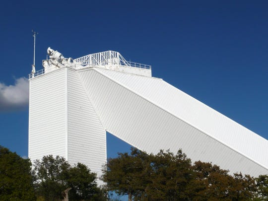 McMath-Pierce Solar Telescope, Kitt Peak National Observatory, Arizona.