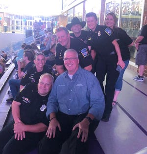 """Middletown Police Department's #LipSyncChallenge placed No. 5 on Monday night on the one-hour CBS special, """"Lip Sync to the Rescue."""""""