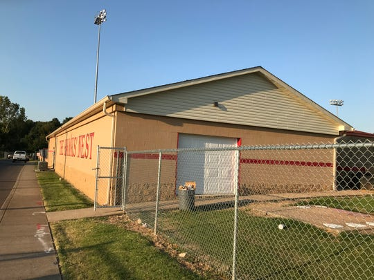 The Rossview campus indoor batting practice facility on Sept. 9, 2019.