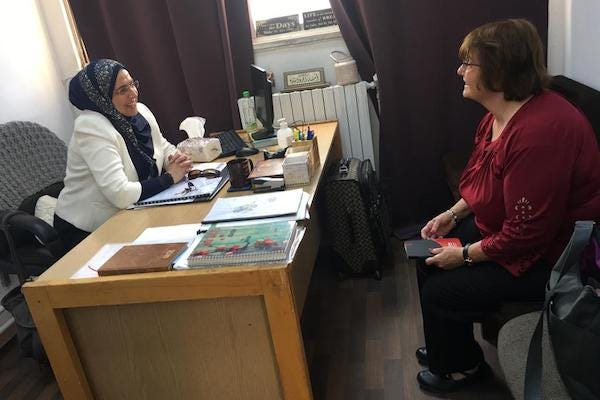 Dr. Christman visited a former doctoral student now working as a professor in Jordan.