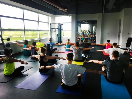 IMT Insurance takes pride in its welcoming workplace culture and offers its employees many learning and development opportunities — including yoga classes.