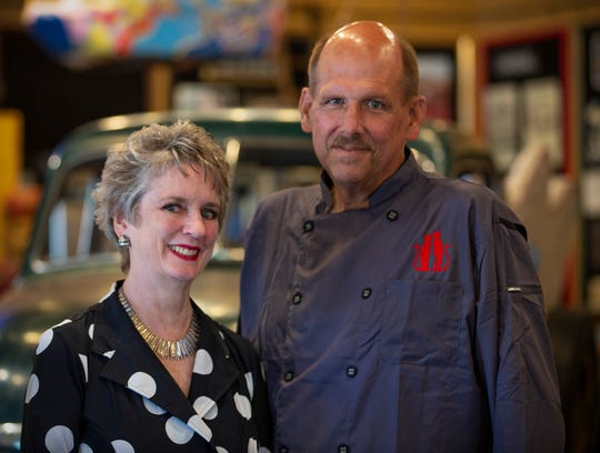 Mary Liz Curtin and Matt Prentice have teamed up opening the Three Cats restaurant inside the Show at Leon & Lulu