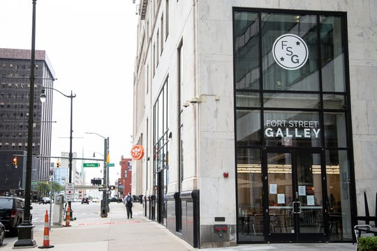 Fort Street Galley in downtown Detroit on Tuesday, Sept. 10, 2019.