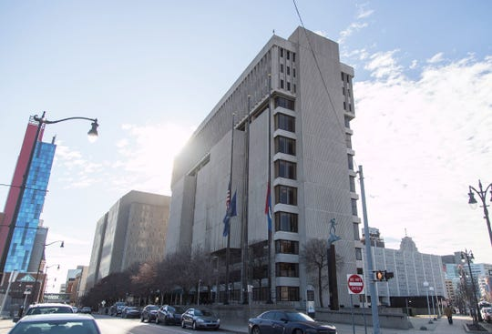The Frank Murphy Hall of Justice in Detroit will be demolished once Wayne County moves into its new criminal justice campus in a few years. The site will then be cleared for new mixed-use development.