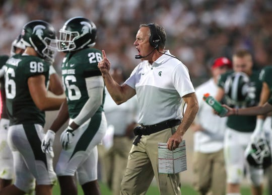Aug. 30, 2019: Michigan State 28, Tulsa 7, Spartan Stadium: The Spartans set a school record for rushing defense, holding the Golden Hurricane to minus-73 yards on the ground, as they controlled the game from start to finish in the opener.