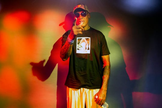 "Former Detroit Pistons forward Dennis Rodman's spectacular personal highs and very public lows are the subject of the new ESPN ""30 For 30"" documentary ""Dennis Rodman: For Better or Worse."""
