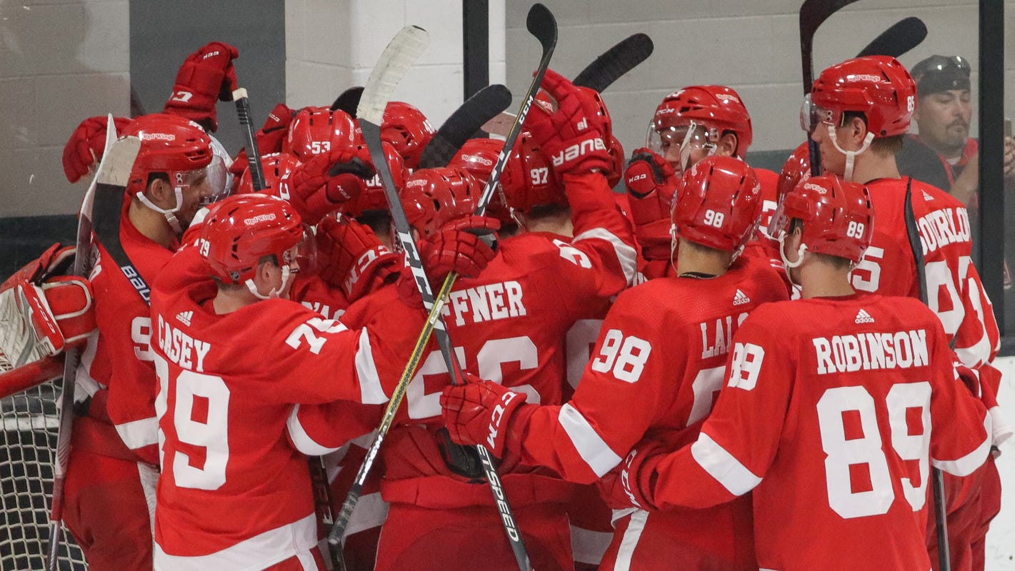 Red Wings win NHL Prospect Tournament in Traverse City