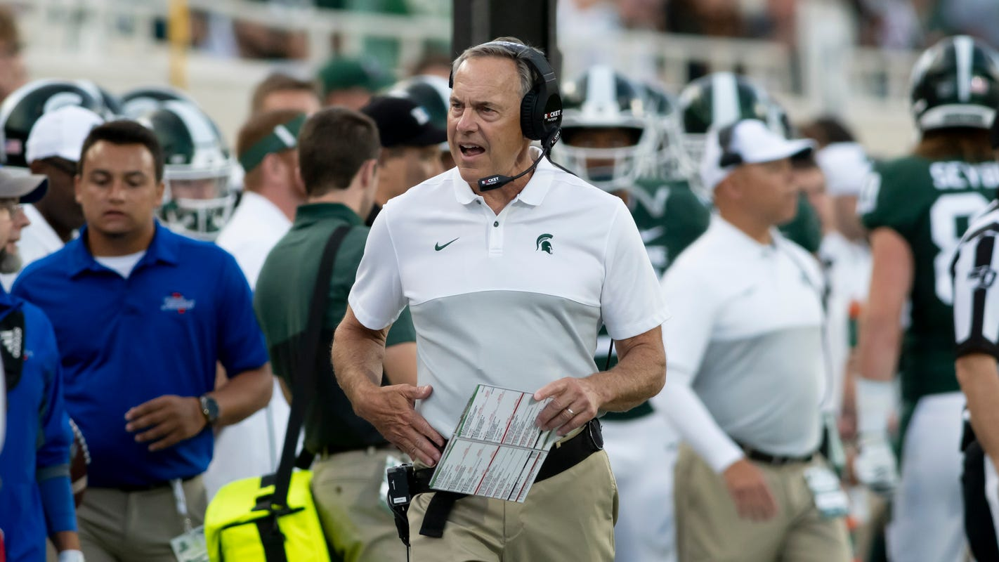 Mark Dantonio's dose of 'brutal reality' helps spark Michigan State offense