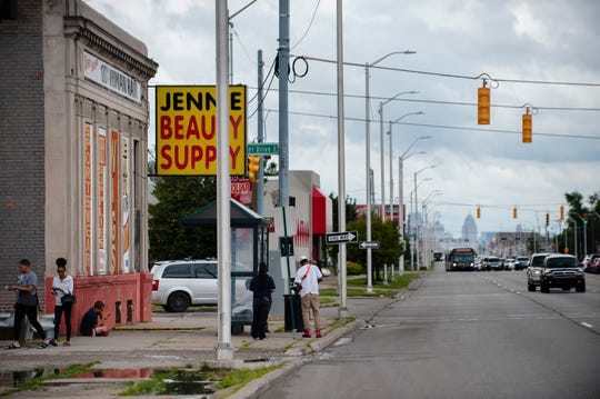 Gratiot Avenue, one of Detroit's most storied and historic streets leading from downtown northeast to Macomb County on Detroit's east side, has become riddled with violent crime in recent years, according to police statistics.