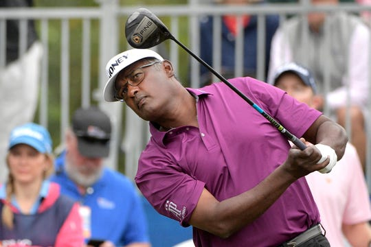 Vijay Singh is one of nine former Buick Open champions who will tee it up this weekend at the Ally Challenge at Warwick Hills Golf & Country Club in Grand Blanc.