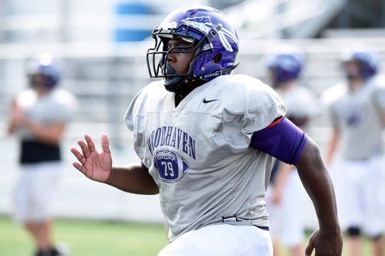 Senior Clarence Corbett is averaging 13.5 yards a carry for Woodhaven (2-0).