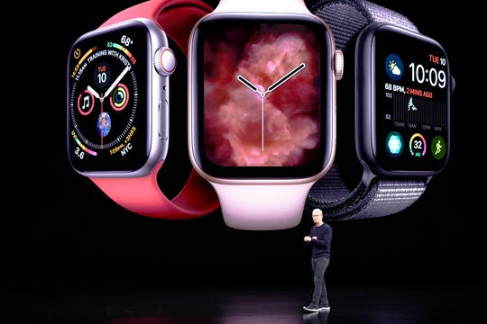 Apple CEO Tim Cook talks about the Apple watch.