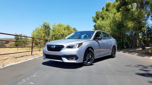Are All Subaru'S Awd >> Payne In Outback S Shadow Subaru Legacy Is A Bargain Awd Sedan