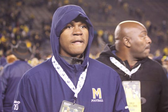 Linebacker Kalel Mullings committed in June to play for Michigan.