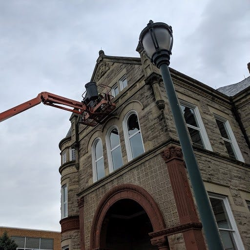 Windows replaced at the Sandusky County Commissioner's Office will bring more energy efficiency to the building.